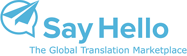 Say Hello Logo male1