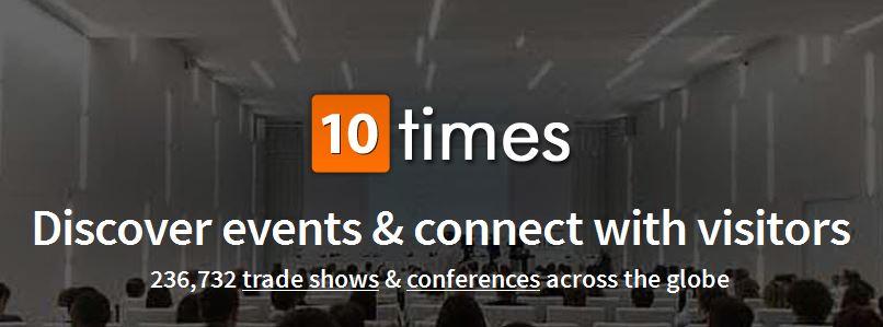 Navštívte veľtrhy a výstavy v celom svete cez 10times